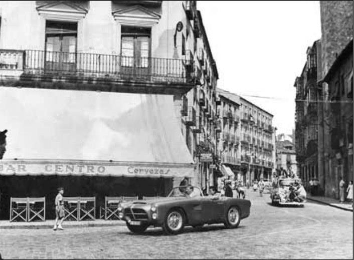 del folleto informativo de la exposición temporal del Museo Rodera-Robles: La plaza mayor de segovia