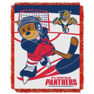 Northwest Co. NHL Panthers Baby Woven Throw Blanket