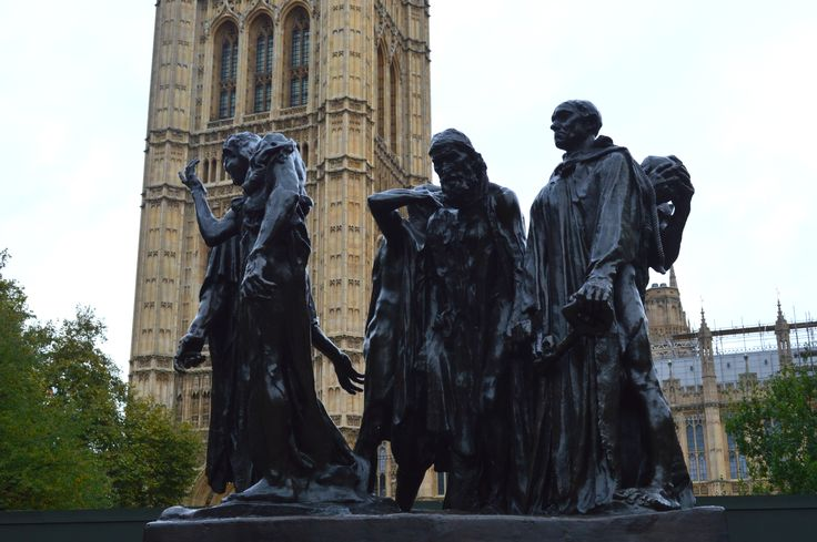 The Burghers of Calais Monument