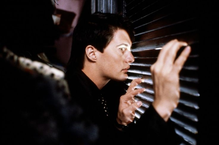 Blue-Velvet.Possibly the quintessential film from director David Lynch, Blue Velvet is a 1986 mystery, film noir. Starring Kyle McLachlan, Laura Dern, Dennis Hopper and Isabella Rossellini, it should come as no surprise that this is a dark, sinister and extreme film.
