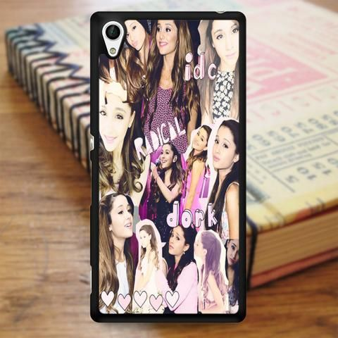 Ariana Grande Collage Sony Experia Z4 Case
