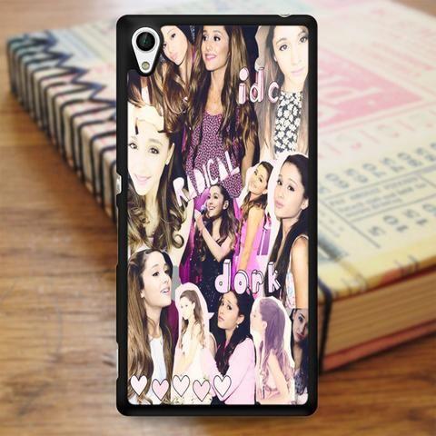 Ariana Grande Collage Sony Experia Z4 Case