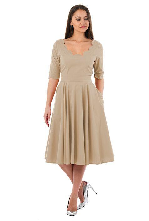 Eshakti virginia dress with what color