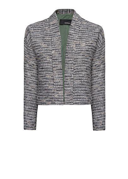 MANGO - Short bouclé jacket