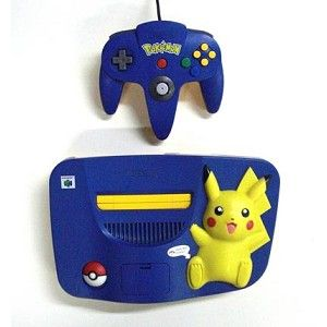 Pokémon Nintendo 64 System! I do want one!!