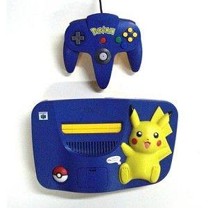 Pokémon Nintendo 64 System! I do want one!!