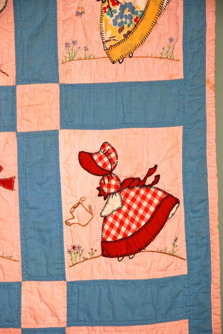 Sunbonnet Sue Quilt Patterns Vintage Quilt Sun Bonnet