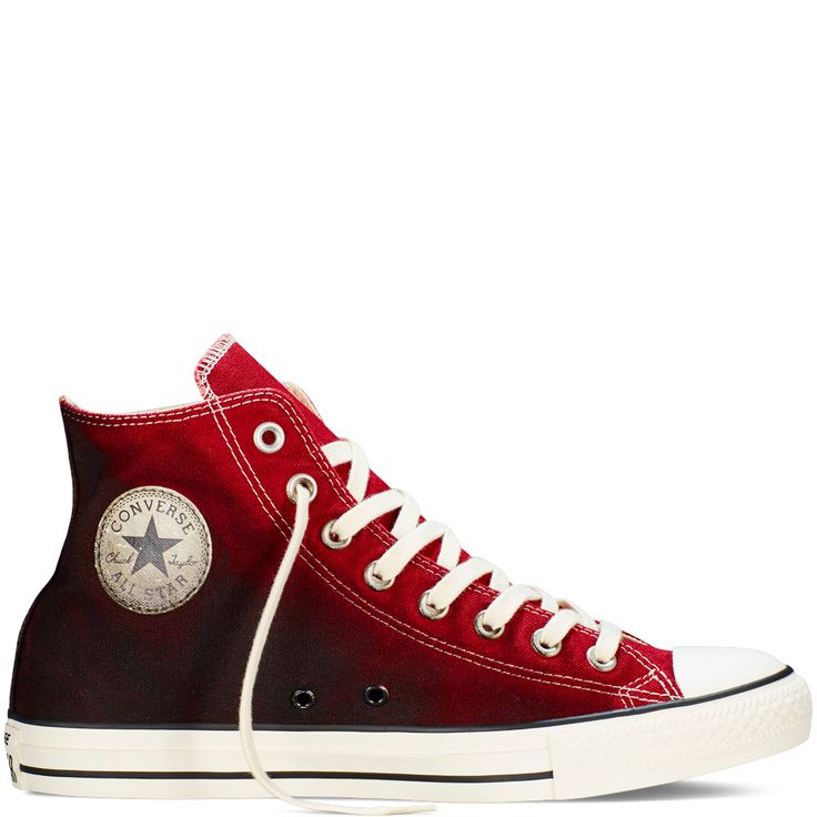 Chuck Taylor All Star Sunset Wash Back Alley Brick/Cherry/Egret back alley  brick · Red High Top ConverseConverse ...