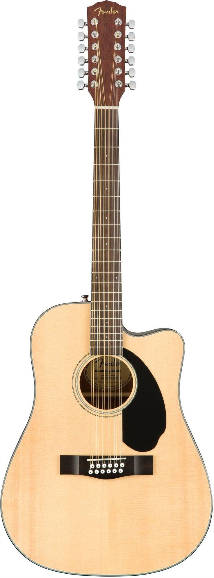 Fender CD-60SCE-12 (natural)