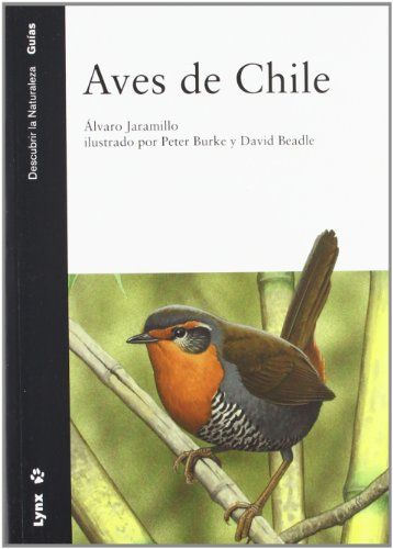 Aves de Chile : incluye la península Antártica, las islas Malvinas y Georgia del Sur / Alvaro Jaramillo ; ilustrado por Peter Burke and David Beadle