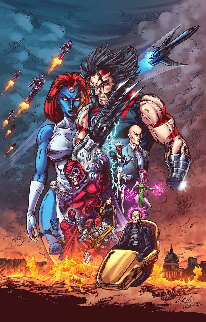 Mystique ... Wolverine ...   X-Men -  vDaily @deviantART Picks for 06-23-2014 #Marvel #XMen   Images Unplugged°° Apocalypse ...
