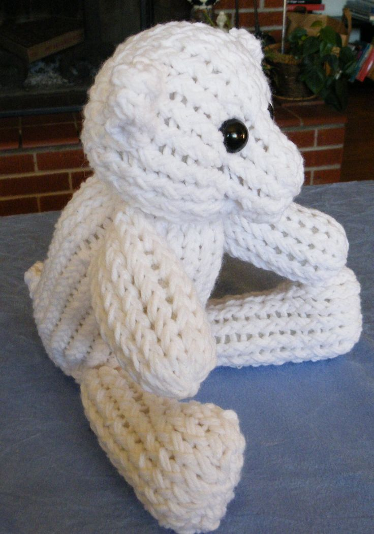 How to Make A Teddy Bear with Knifty Knitter Looms