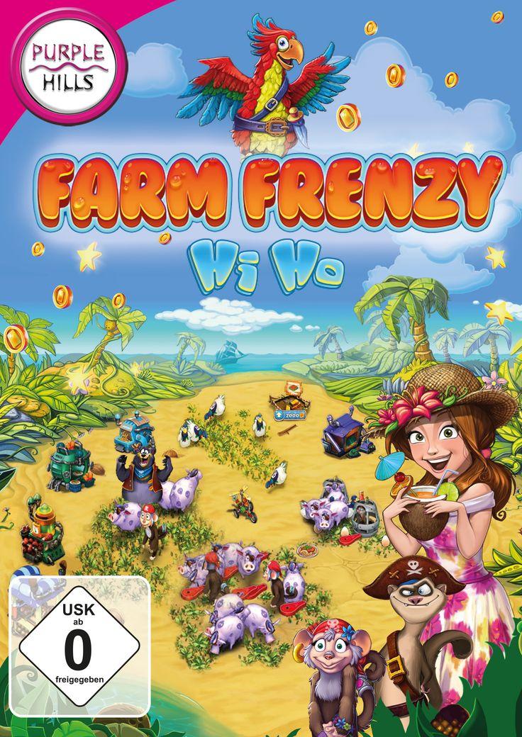 Farm Frenzy - Hi Ho: Scarlett ist mit einem ganz neuen Farm Frenzy Abenteuer zurück, indem du eine Farm auf einer exotischen Piraten-Insel aufbauen musst - da macht das Landleben wieder richtig Spaß!