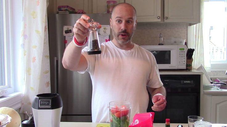 comment faire un jus de légumes pour guérison rapide de blessure