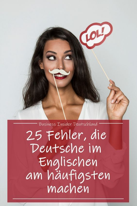 25 mistakes Germans make the most in English, according to Business English trainers