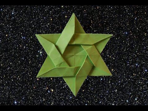 Paper Star for Christmas -Estrella de papel para Navidad - YouTube
