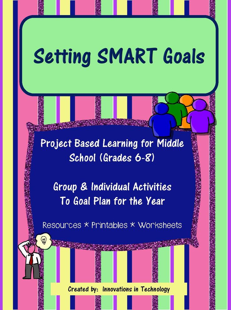 Setting SMART Goals is a lesson that helps students identify and plan goals for school or their personal life by utilizing the SMART method of goal planning (Specific, Measurable, Attainable, Relevant, Timely). This is a great lesson to start off a new semester or a new year.    In these lessons, students are provided with an introduction to the goals methodology and suggested resources for whole class activities are included to introduce the lessons. Next, students brainstorm with a small…