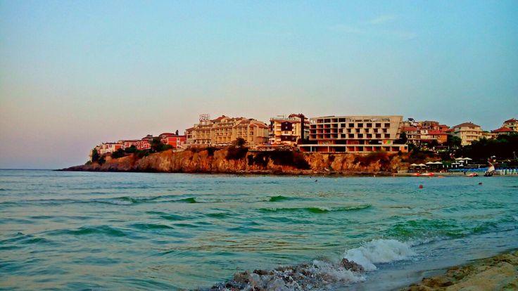 Пляж в Созополе, Болгария