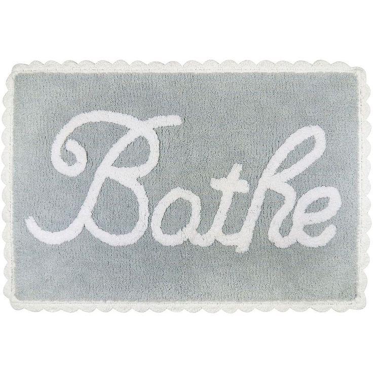 Park B Smith Metro Farmhouse Quot Bathe Quot Bath Rug Grey
