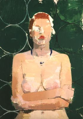 Euan Uglow (1932-2000) was a British painter, famous for his nude and still life paintings. In 1962 he was at the centre of a storm at the municipal art gallery in Bradford, Yorkshire, when a local councillor had one of Uglow's paintings, German Girl, removed from an Arts Council exhibition at the gallery - claimed the painting 'offended decency. His method was meticulous, involving a great deal of measuring and correction to create images that are not hyper real, but appear almost…