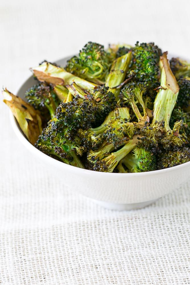 garlic roasted broccoli with balsamic vinaigrette     210 COOK SMARTS Live happier, simpler, smarter in the kitchen with our weekly meal plans