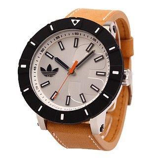 Reloj Digital Adidas Hombre Marrón Con Negro