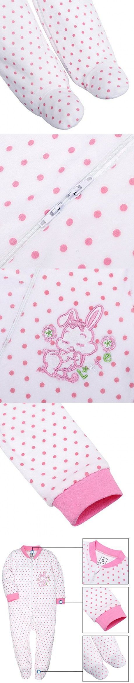 SHENGWEN Baby Boy Girl Pajamas Blanket Sleeper 100% Cotton Footed Sleep and Play Rabbit240g #babyBlanketSleeper