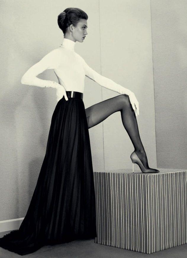 Karlie Kloss for Acne Paper Winter 2012 by Roe Ethridge