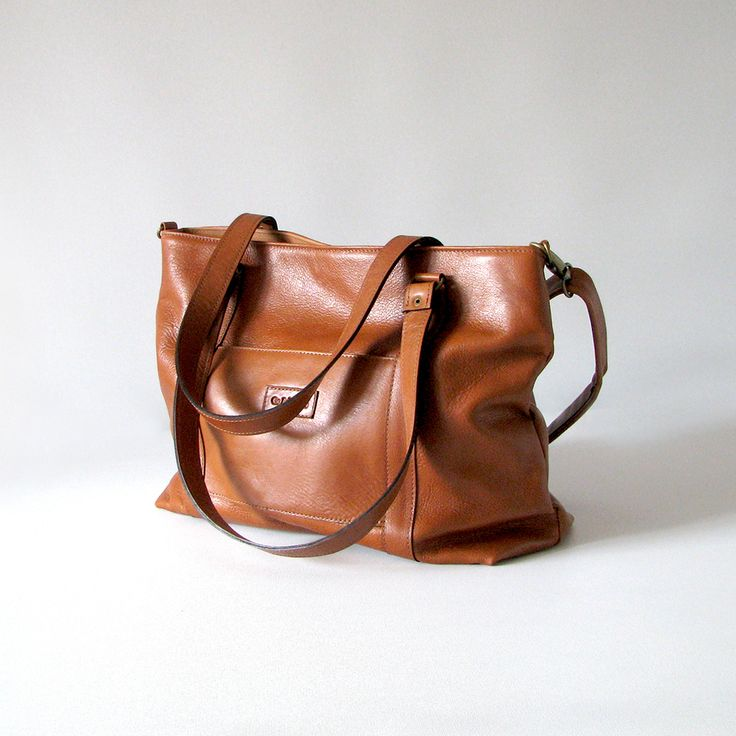 The Big Betty tote is handmade from soft  cowskin leather.