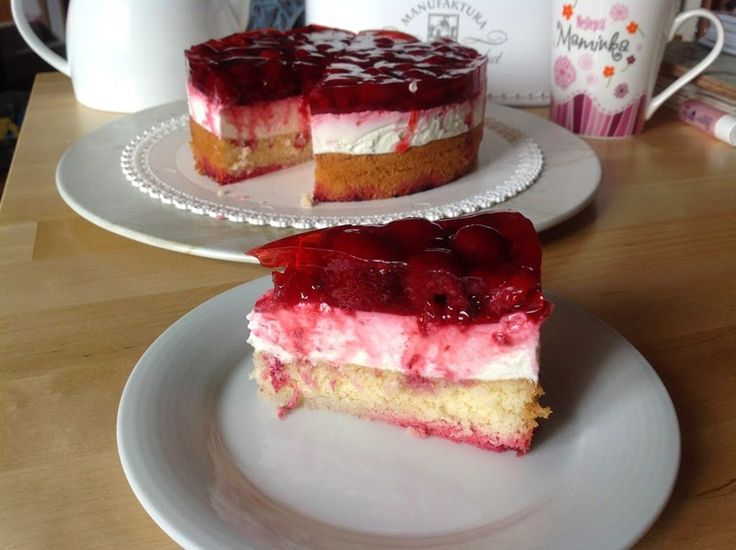 Raspberry cake / Malinový dortík