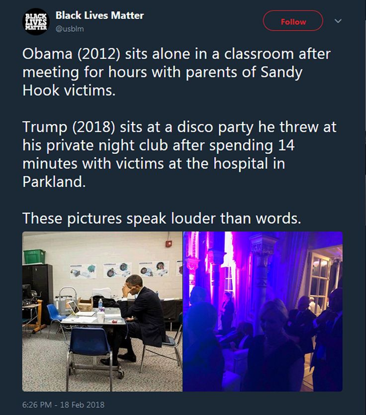 The difference between a leader and a hedonist is the difference between Obama and Trump.  Obama was not perfect, not by any means, but he was a leader.  Trump, he knows how to throw a party.