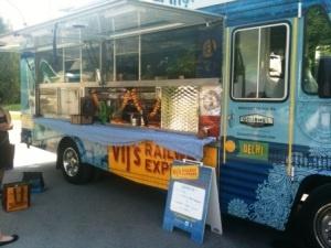 Food truck in Vancouver - Vij's Railway Express