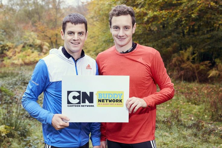 Cartoon Network UK has partnered with British triathlete brothers Jonathan and Alistair Brownlee as part of the network's ongoing Buddy Network initiative, designed to stop children being bullied. In a partnership that also works alongside Childline & the NSPCC the network aims to help stop t