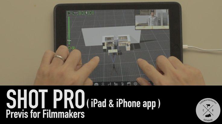ShotPro - Previs App for Filmmakers Demo / Review