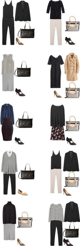 Basic Work Capsule Outfits 31-40 #capsulewardrobe #workwardrobe #workwear…