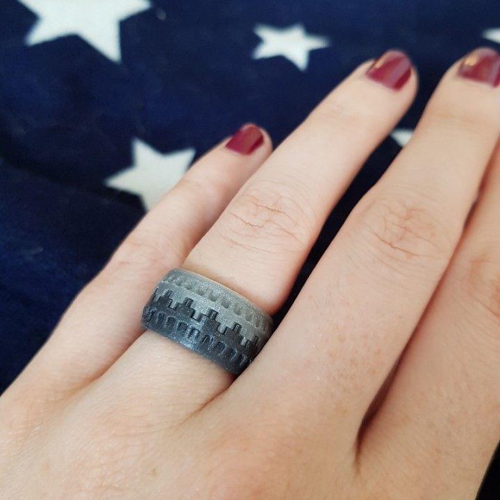 Battlement Ring by Nanna Larsen
