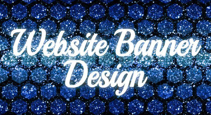 WEBSITE BANNER  -  Graphic Design - custom request - professional service 100%