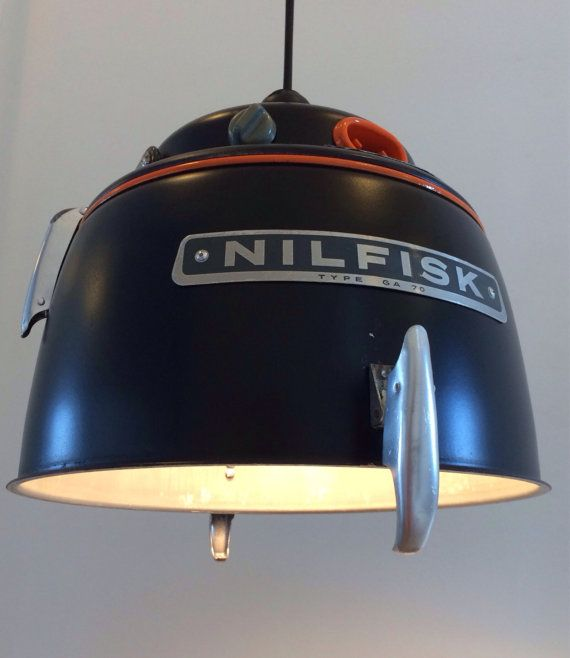 Buy Nilfisk lamp - Deerstedt Design by deerstedt. Explore more products on http://deerstedt.etsy.com