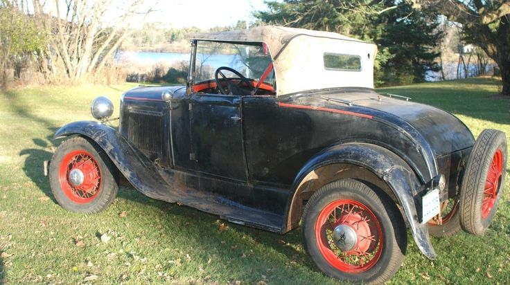 Charming Jalopy: 1931 Ford Model A Deluxe Roadster - http://barnfinds.com/charming-jalopy-1931-ford-model-a-deluxe-roadster/