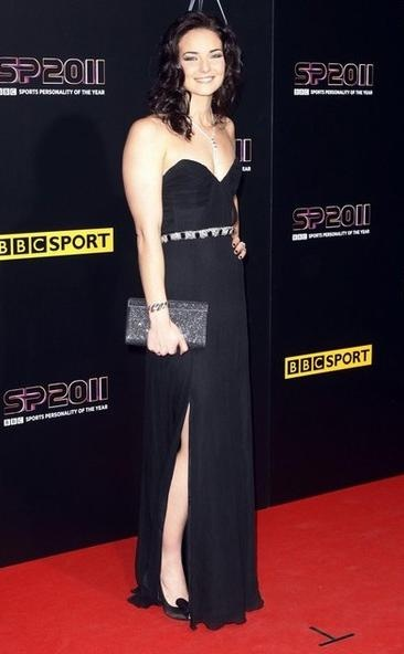 Links of London's Olympic ambassador Keri-anne Payne wearing pieces from the Entwine collection at the Sports Personality of the Year Awards 2011.
