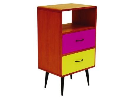 17 best images about furniture on pinterest teak for Funky bedside tables