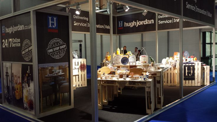 A shot of Hugh Jordan's stand at IFEX 2014