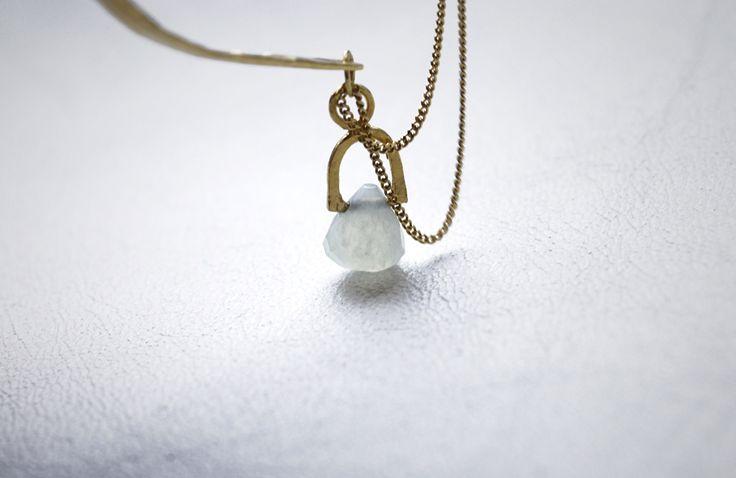 BLUE JADE BRACELET GOLD BY SZMER-craft