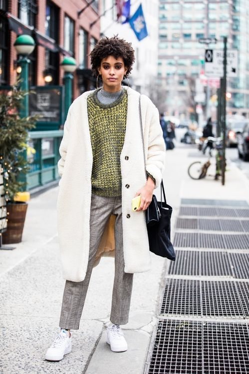Street Style From New York Fashion Week Fall Winter 2018 2019 Good