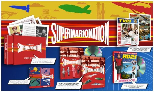 Network Accounces #supermarionationboxset #supermarionation #andersonnews