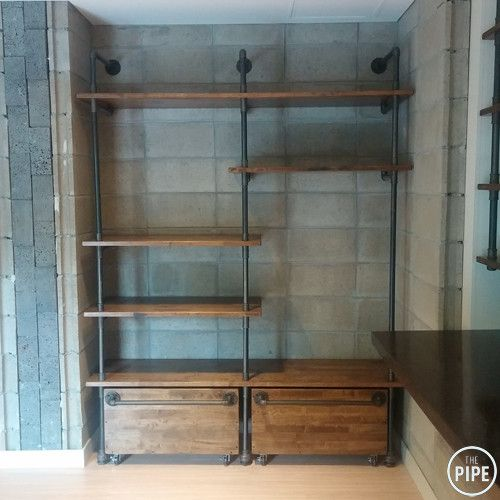 25 Best Ideas About Pipe Closet On Pinterest Iron Pipe