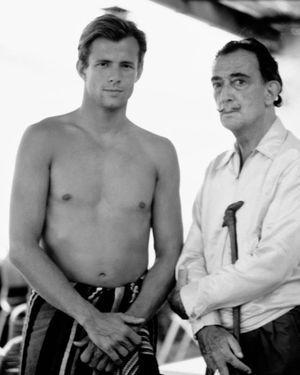 Peter Beard y Dalí