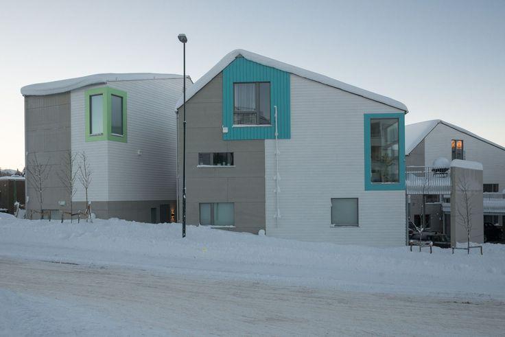 Lund Østre B9 housing, Trondheim. Architects: PIR II.