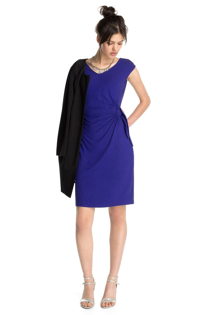 Esprit kleid electric blue