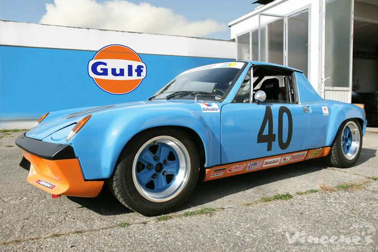 Porsche 914 6 Rennwagen Replica Gulf Racing Colors